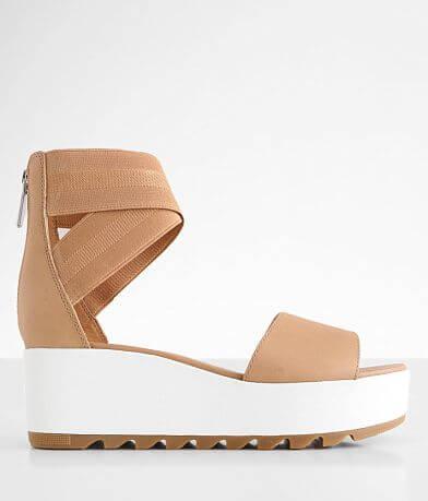 Sorel Cameron™ Flatform Leather Sandal