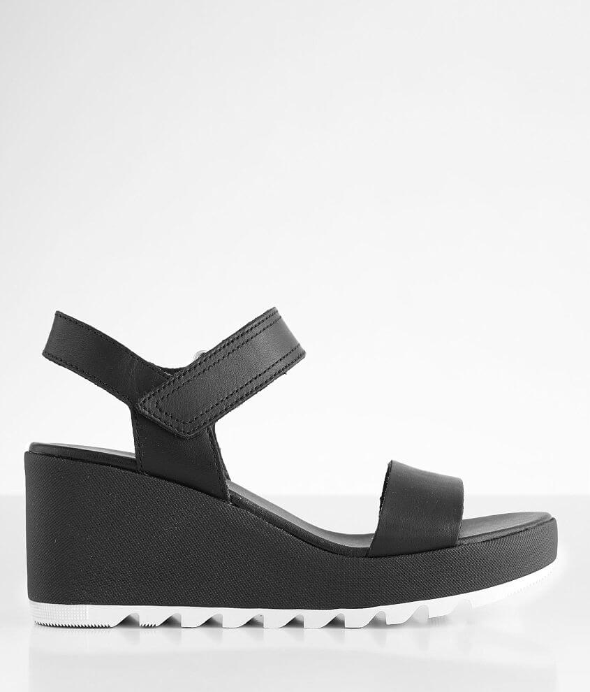 Sorel Cameron™ Wedge Leather Sandal front view