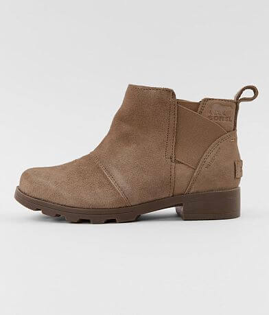 Girls - Sorel Emelie™ Leather Ankle Boot