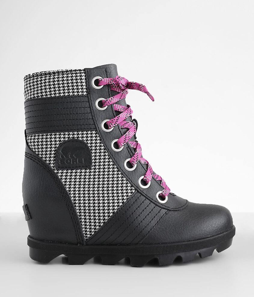 Girls - Sorel Lexie™ Leather Wedge Boot front view