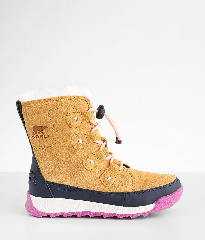 Girls - Sorel Whitney™ II Joan Leather Boot front view