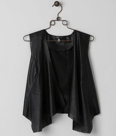 BKE Boutique Laser Cut Vest