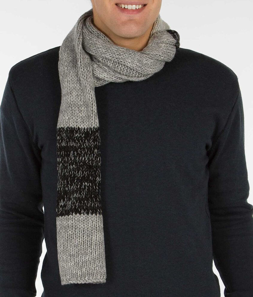Striped Scarf front view
