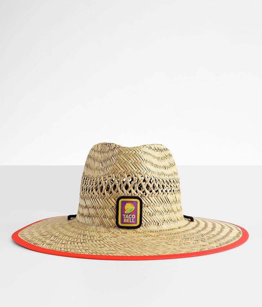 Taco Bell™ Lifeguard Hat front view