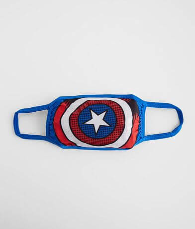 Boys - Marvel Captain America Face Mask