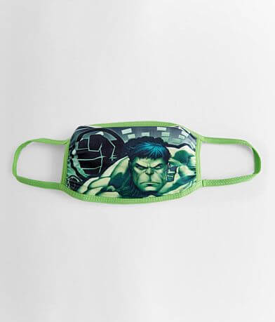 Boys - Marvel Hulk Fabric Face Mask