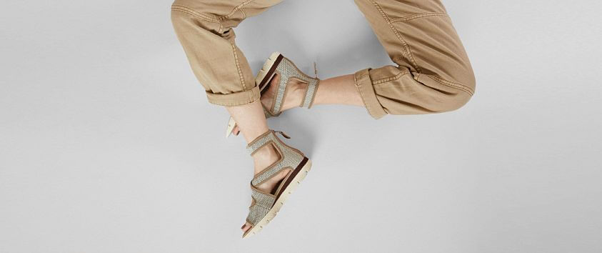 OTBT Circuit Leather Sandal front view