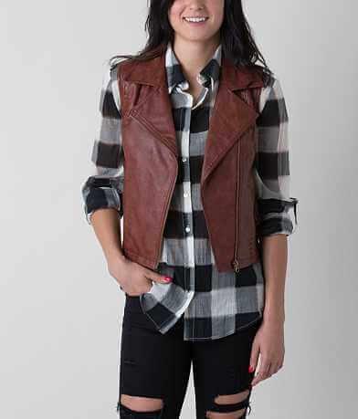 BKE Asymmetrical Zip Vest