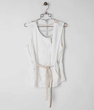 BKE Boutique Asymmetrical Vest