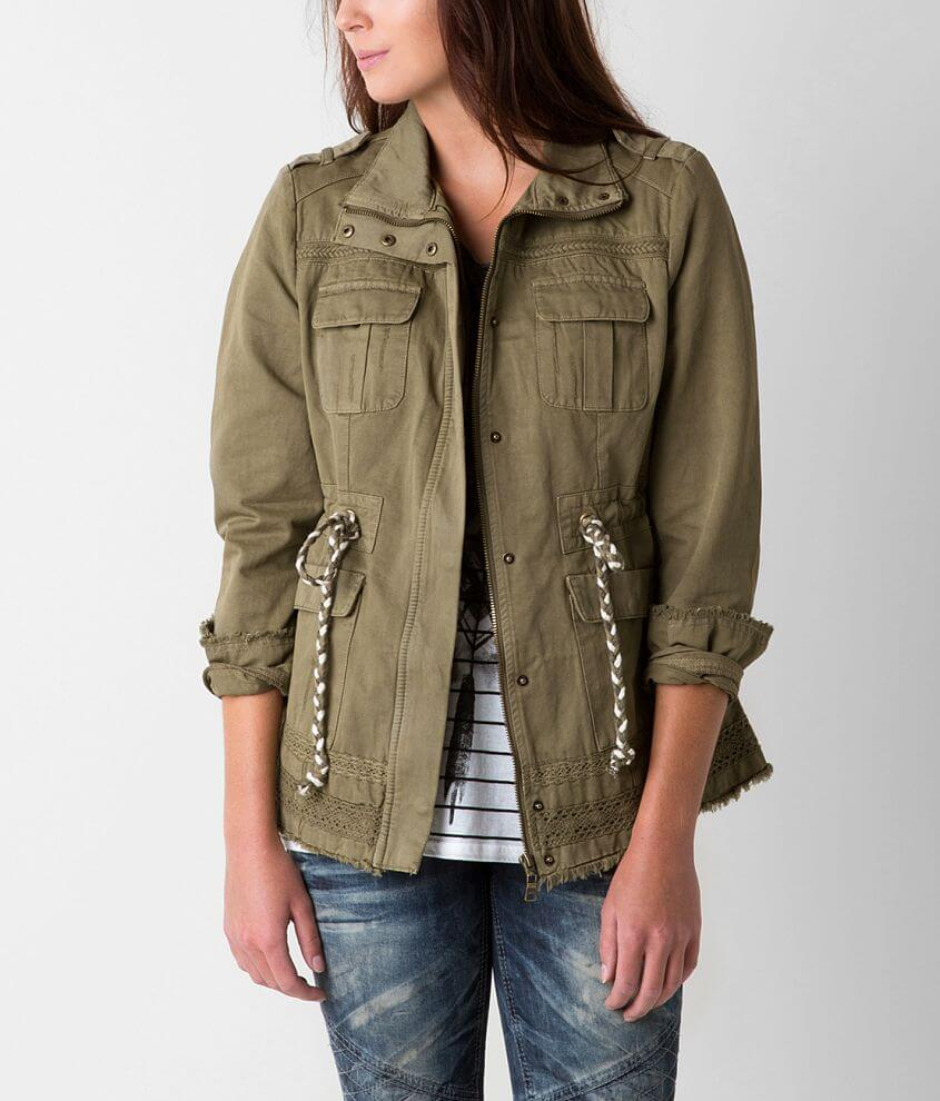 BKE Raw Edge Jacket front view