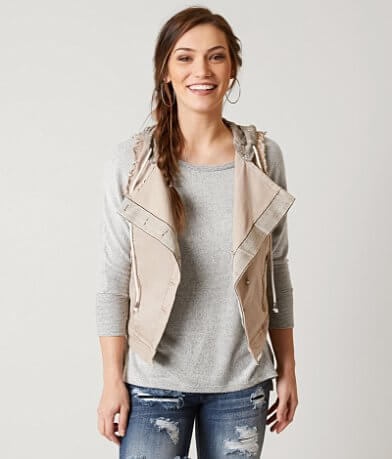 BKE Raw Edge Vest