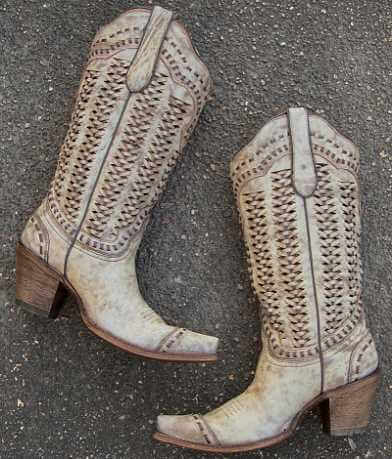 Corral Braided Cowboy Boot