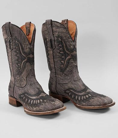 Corral Shaded Eagle Leather Cowboy Boot