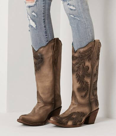 Corral Embroidered Leather Western Boot