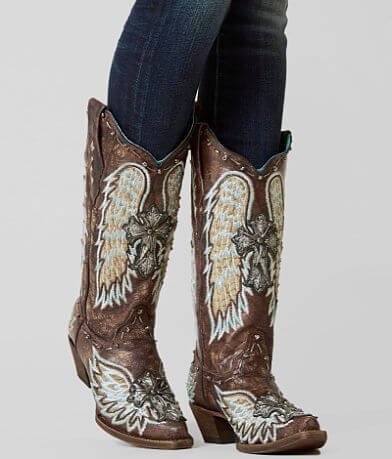 Corral Distressed Leather Western Boot