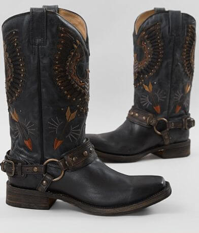 Corral Black Eagle Leather Cowboy Boot