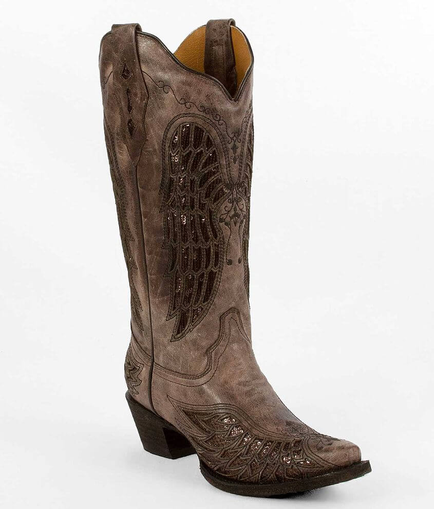 Corral Wing Cowboy Boot front view
