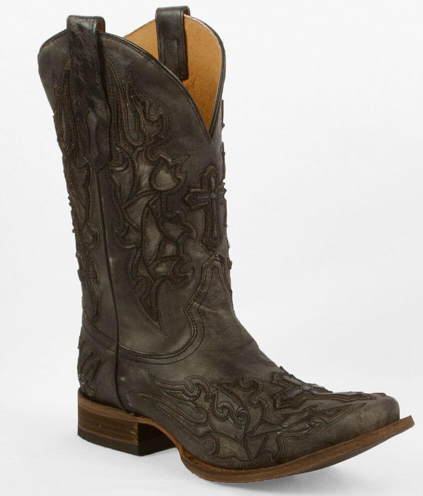 Corral Cross Cowboy Boot front view