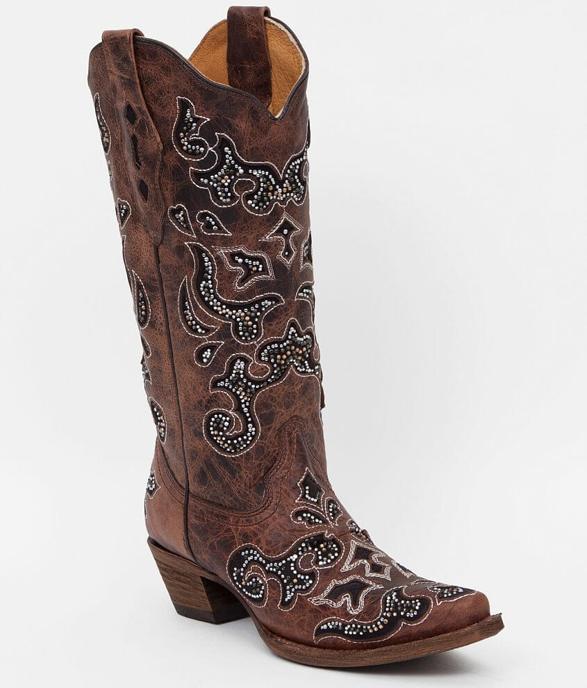 Corral Goldsmith Cowboy Boot front view
