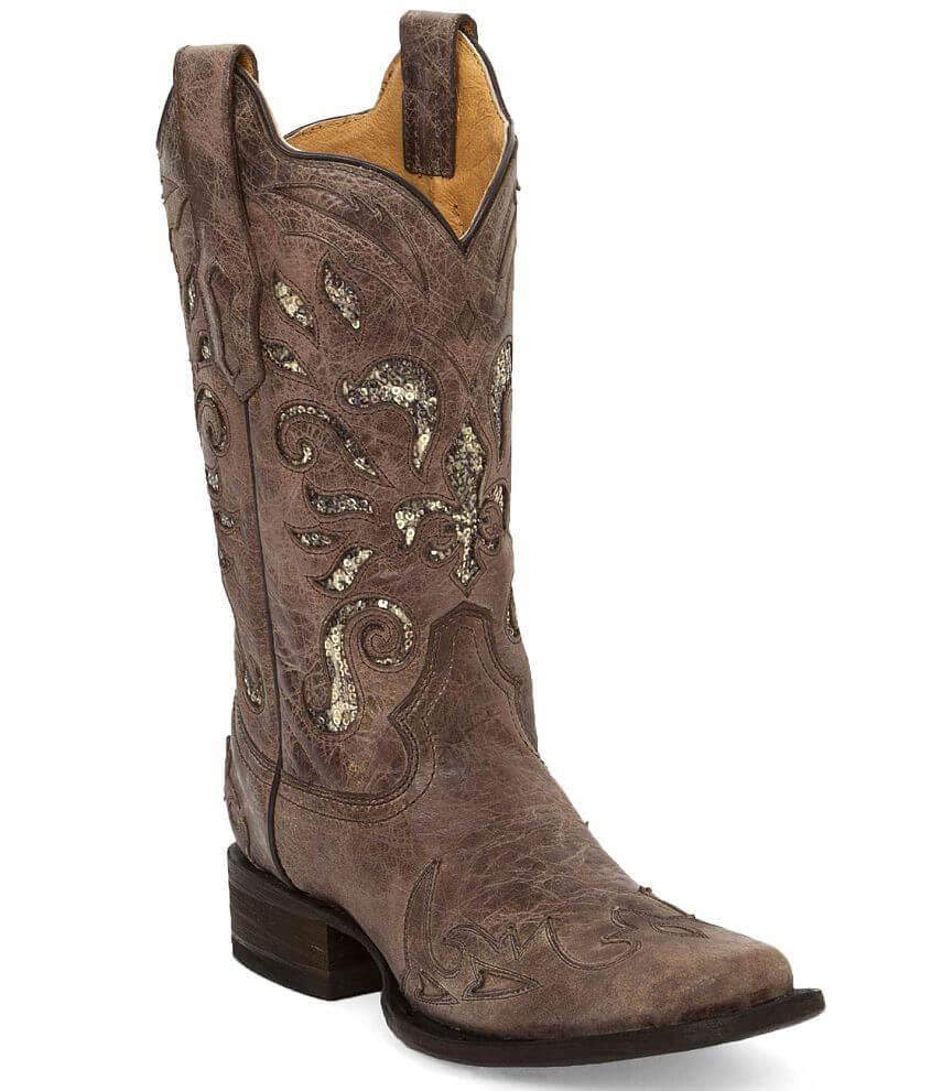Corral Pasadena Square Toe Cowboy Boot front view