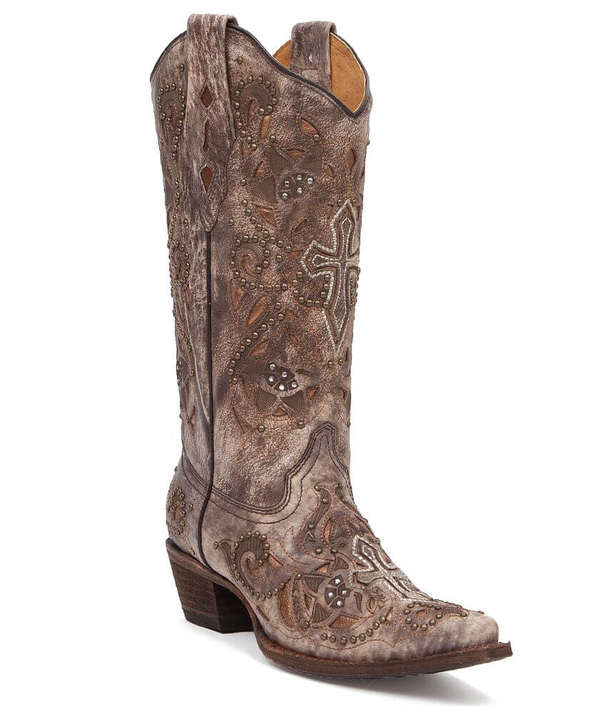 Corral Penelope Cowboy Boot front view