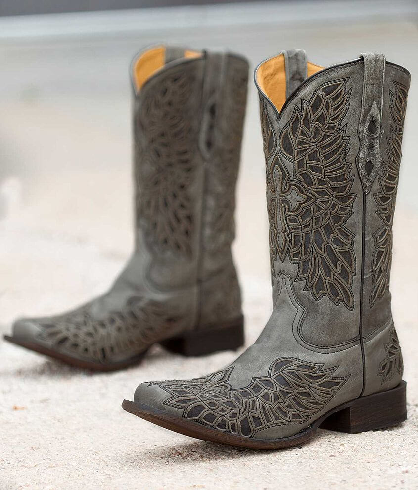 mens zip up cowboy boots