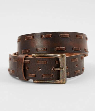 Circle G by Corral Whipstitch Leather Belt