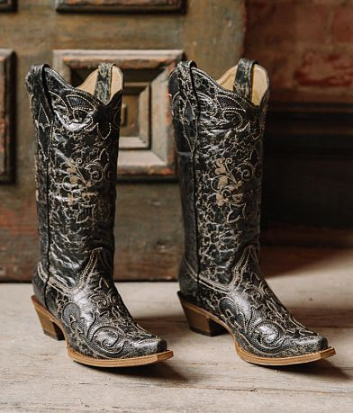 Corral Vintage Lizard Leather Western Boot