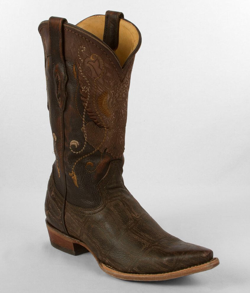 Corral Deer Eagle Cowboy Boot front view