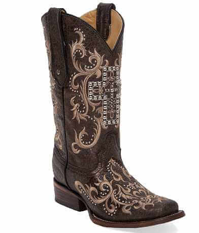 Corral Cross Square Toe Cowboy Boot