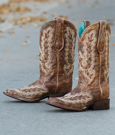 Corral Rhinestone Leather Western Boot