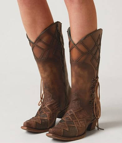 Corral Pieced Leather Western Boot