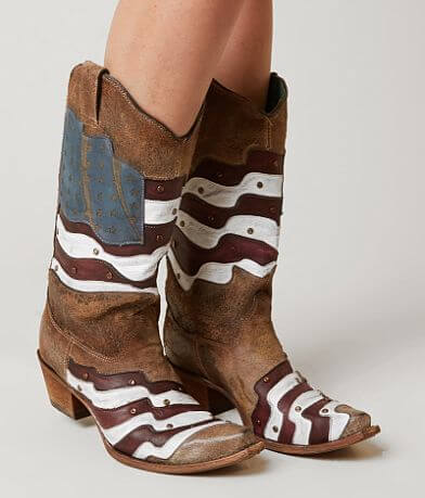 Corral Americana Leather Western Boot