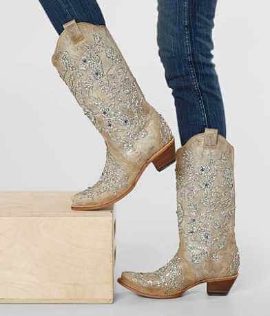 Corral Glitter Cowboy Boot