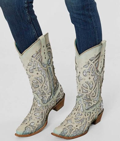 Corral Glitter Chameleon Leather Western Boot