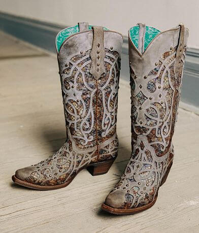 Corral Leather Western Boot