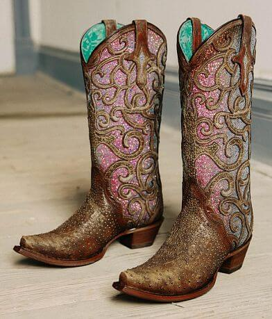 Corral Iridescent Leather Western Boot