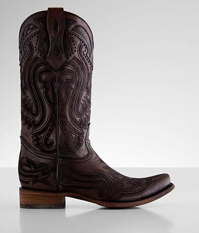 Corral Python Laser Embroidered Cowboy Boot
