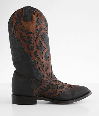 Corral Embroidered Two-Tone Leather Cowboy Boot
