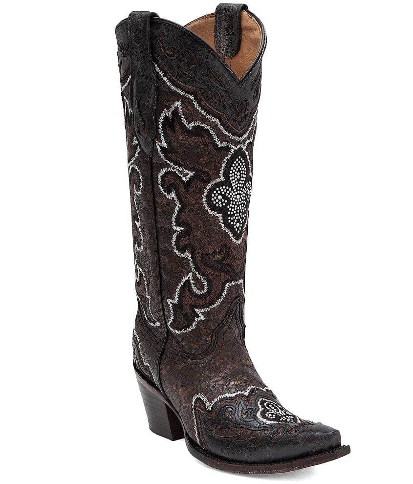 Corral Cecily Cowboy Boot front view