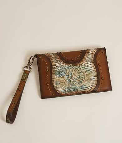 Corral Rose Clutch Wallet