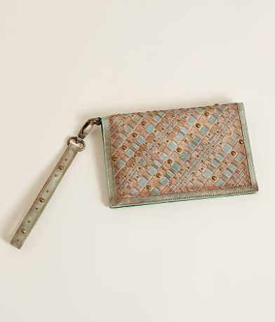 Corral Weaved Clutch Wallet