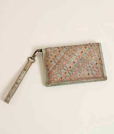 Corral Weaved Clutch Wallet