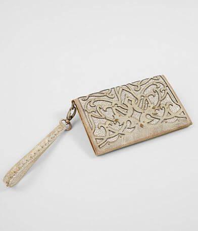 Corral Glitter Clutch Wallet