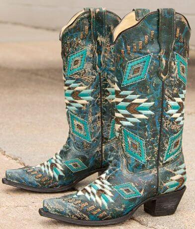 Corral Aztec Cowboy Boot