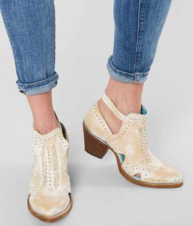 Corral Distressed Leather Ankle Boot