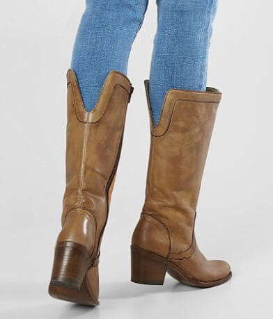 Corral Honey Leather Riding Boot