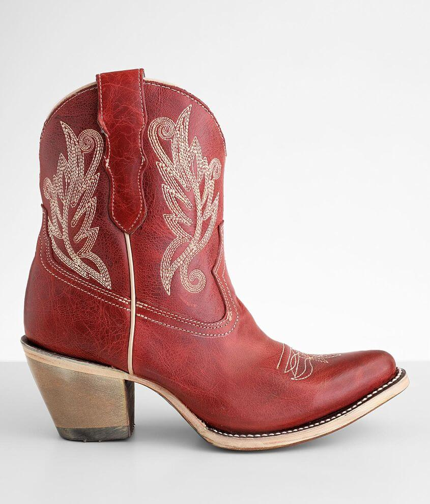 Corral Embroidered Western Leather Boot front view