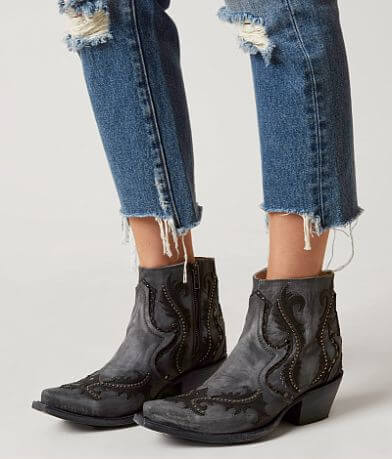 Corral Studded Ankle Cowboy Boot
