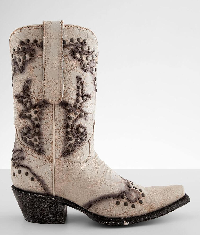 Corral Studded Leather Western Boot front view